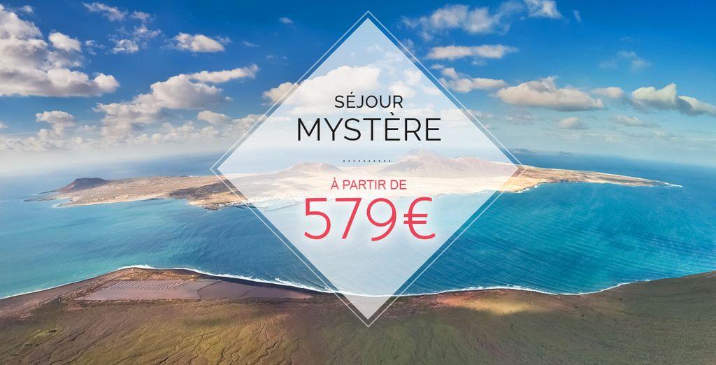 Bienvenue à Lanzarote pour un séjour placé sous le signe du mystère... - Séjour Mystère 5* à Lanzarote Lanzarote