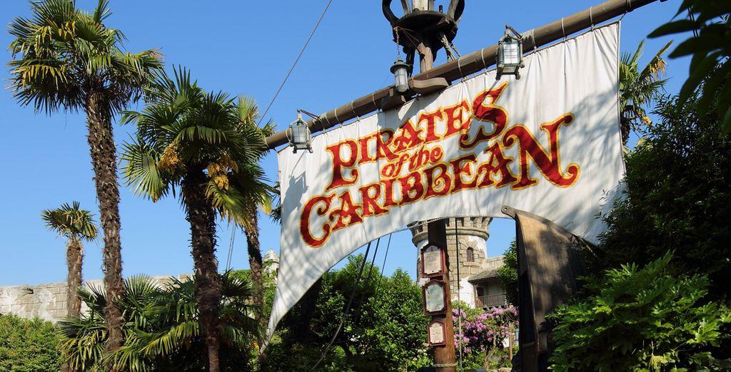 ou encore l'esprit d'aventure de Pirates of the Caribean