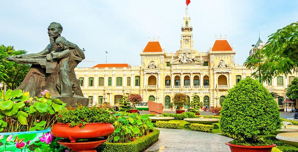 Avant de rejoindre Ho Chi Minh