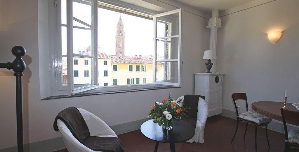 Une vue imprenable sur Florence
