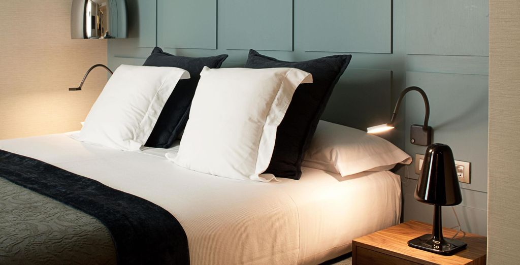 Installez-vous dans votre confortable chambre de Luxe