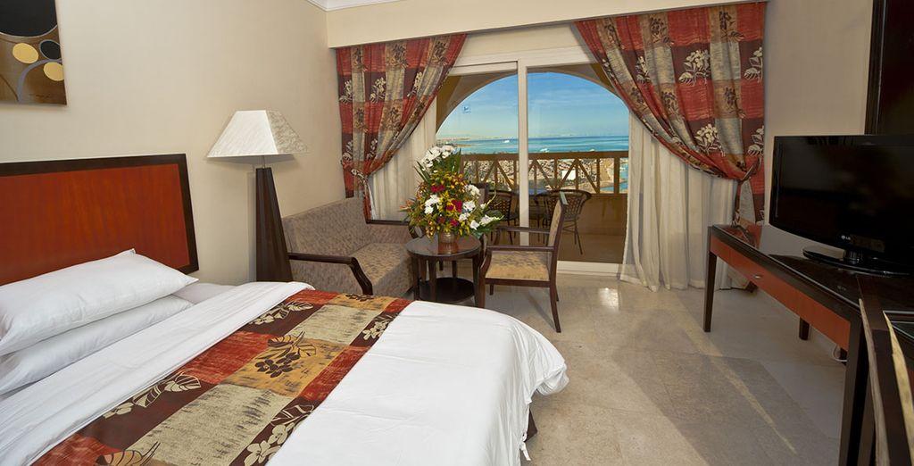 Hôtel de luxe offrant une vue panoramique sur le Nil, sélectionné par Voyage Privé