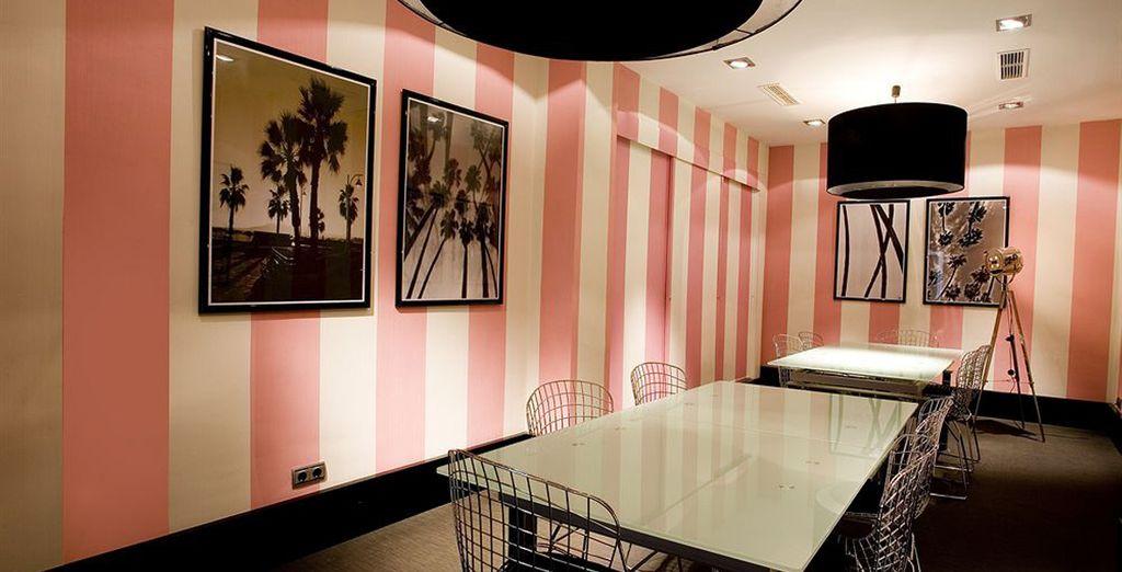 Cap sur un hôtel design, offrant une situation idéale à Malaga !