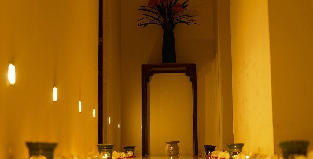 Et son sauna, véritable temple des soins et des massages !