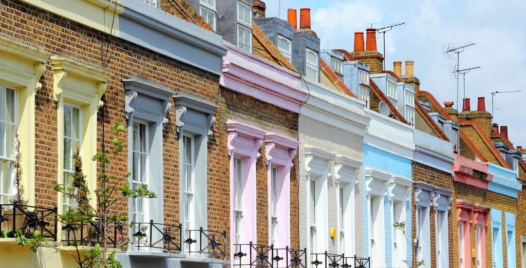 Flanez dans les rues de Notting Hill...