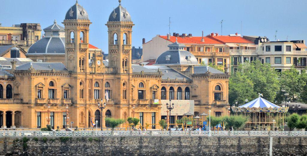 Entre immersion dans l'ambiance Belle Epoque de San Sebastian...