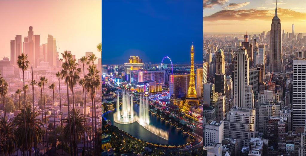 Combiné Sheraton Grand Los Angeles 4*, Venetian Las Vegas 5* et Concorde New York 4*