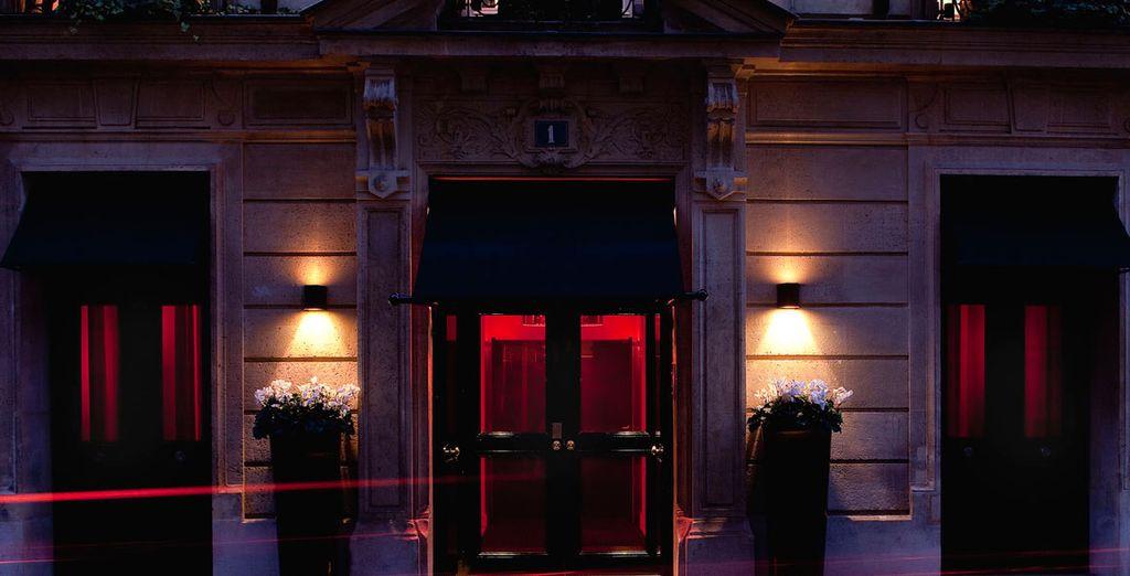 Bienvenue à l'hôtel Mon hôtel et son atmosphère singulière...
