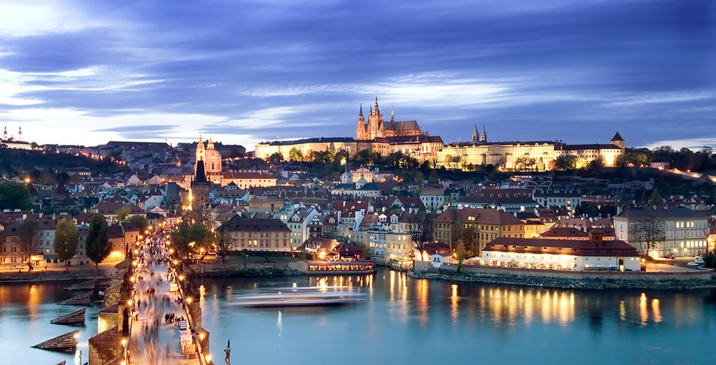 Et bien sûr l'incontournable château de Prague