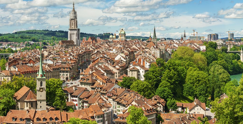 Photographie de la ville de Genève en Suisse