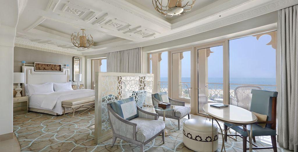 Ou le prestige de la chambre Deluxe avec balcon et Vue Mer