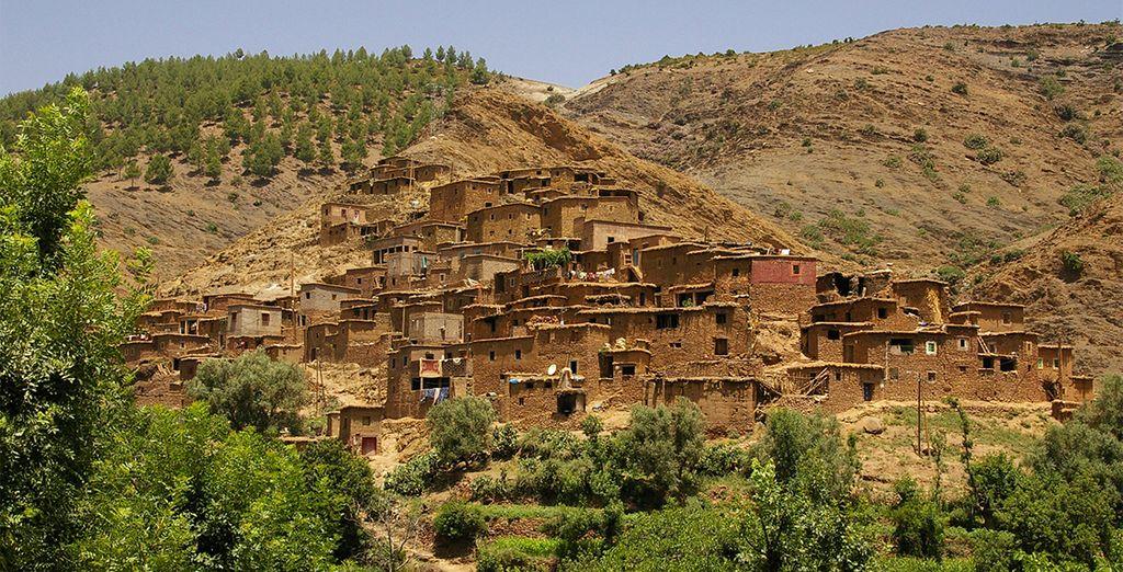 Et entrez au coeur des maisons berbères