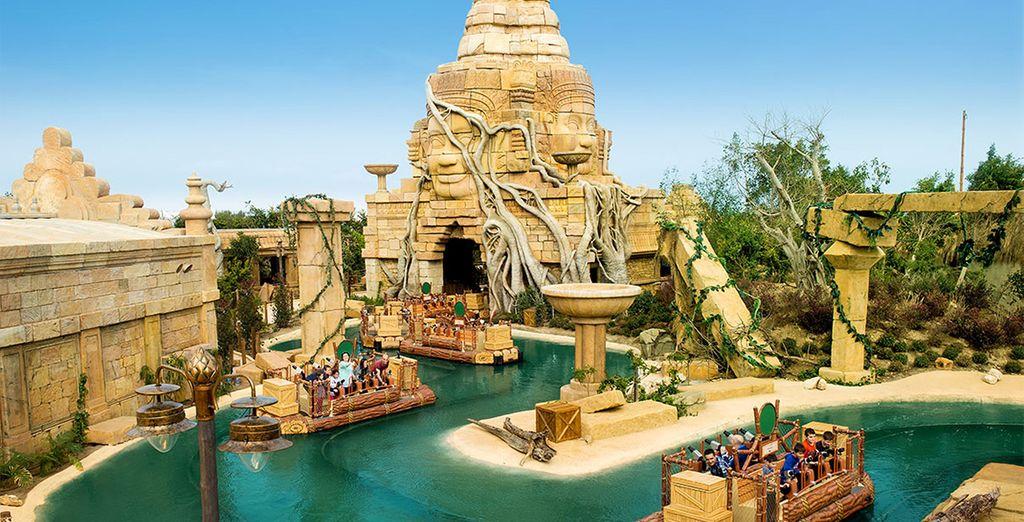 Plus de 40 attractions vous attendent