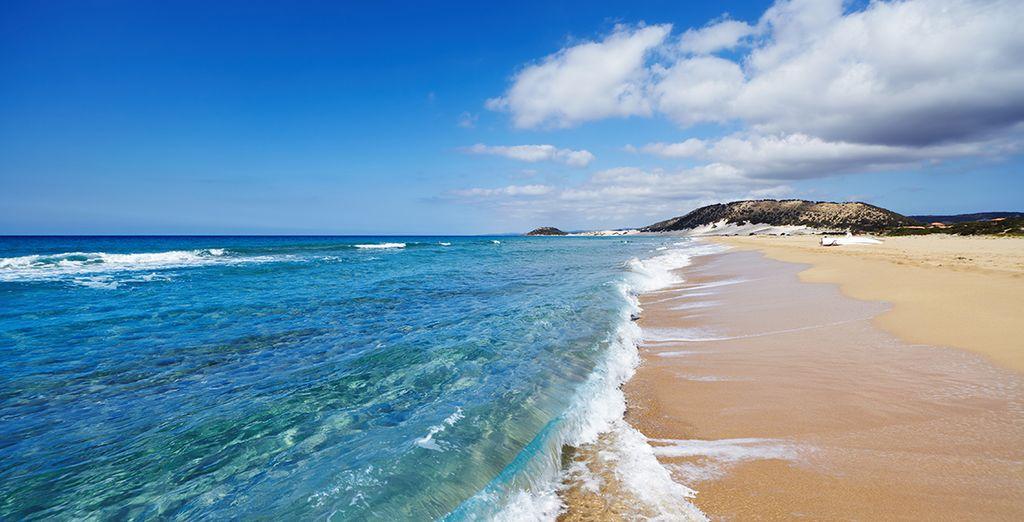 Plages de sable fin paradisiaques à Chypre