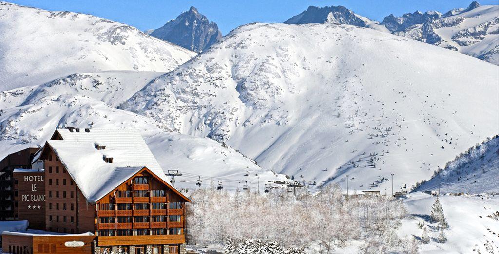L'hôtel Le Pic Blanc vous ouvre ses portes...