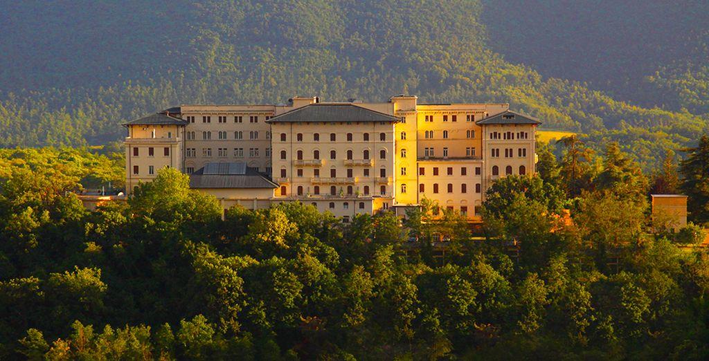 Isolé au coeur d'un parc centenaire... - Grand Hotel Palazzo Della Fonte 5* Fiuggi