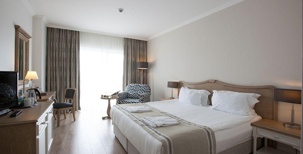 Et apprécierez le confort de votre chambre Standard
