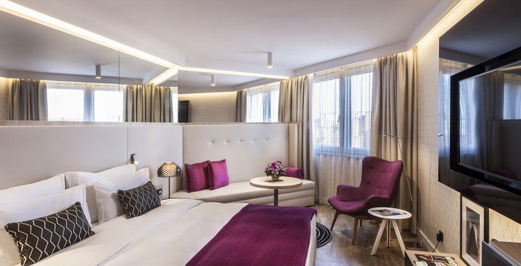 Hôtel de luxe au cœur de Budapest