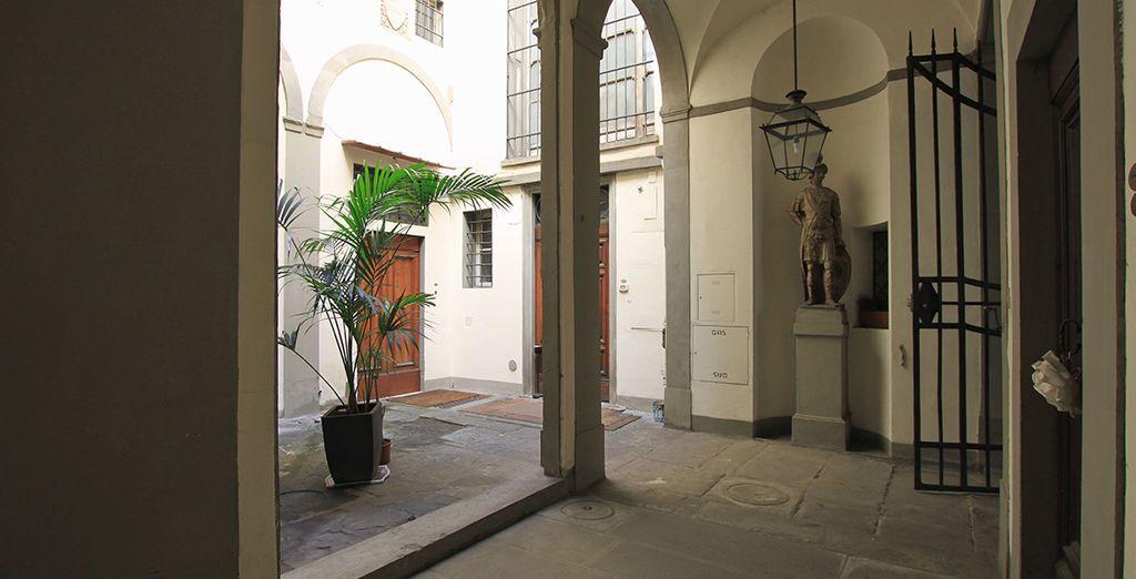 Dans un immeuble datant du XIVe siècle