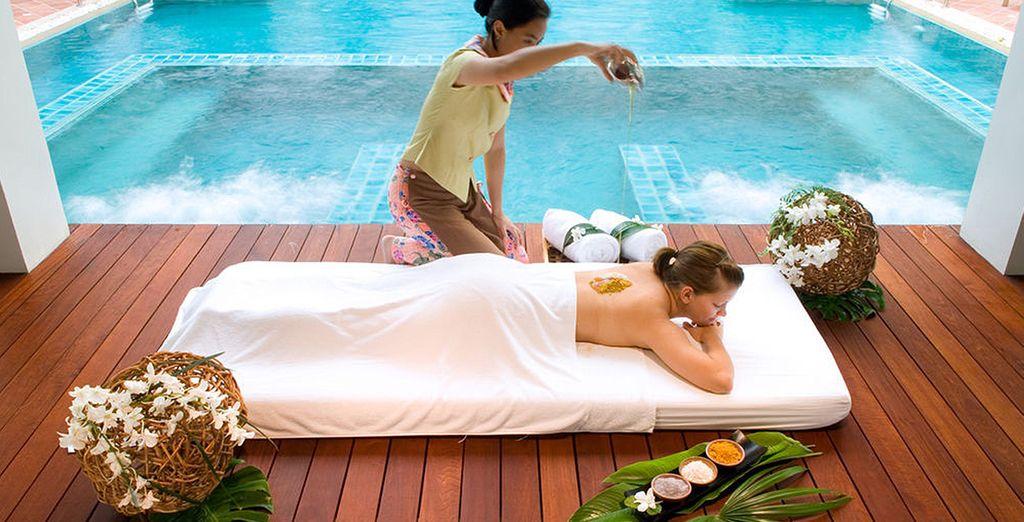 Suivie d'une pause balnéaire de 5 à 10 nuits au Banthai Beach Resort & Spa