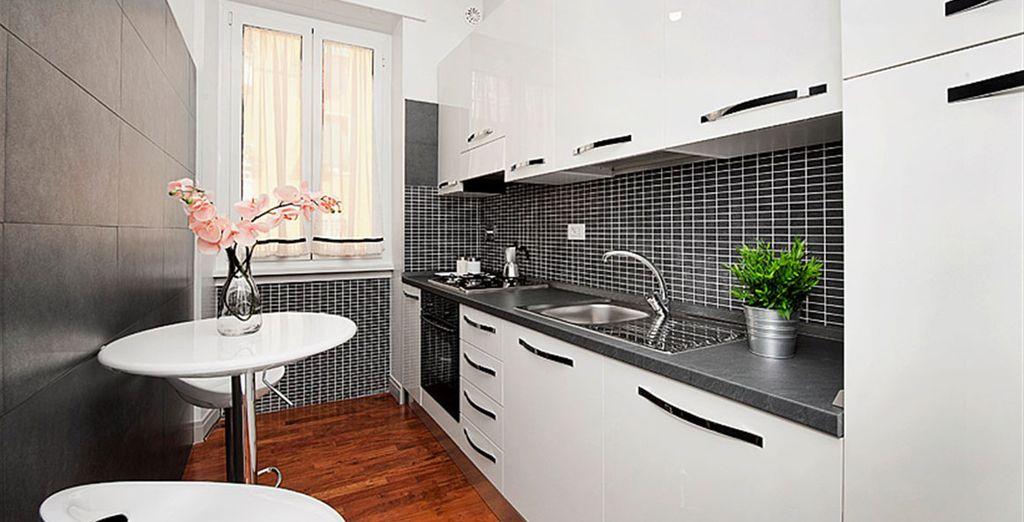 Appartement 3 : La cuisine