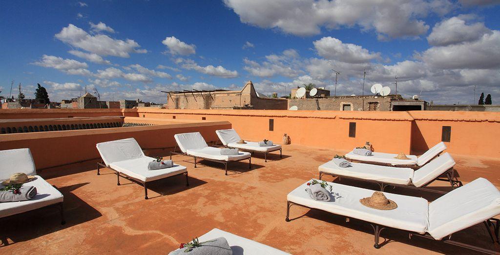 Et goûter aux délices de l'art de vivre marocain...