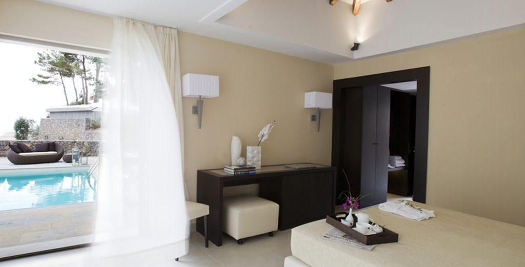 ou en chambre Superior Deluxe With Private Pool