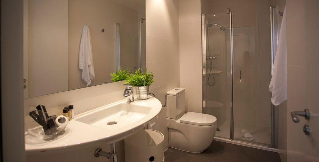 Appartement 4 : La salle-de-bains