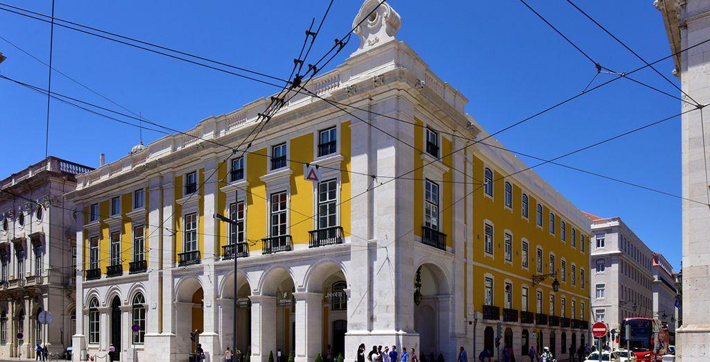 Au sein du Pousada de Lisboa 5*