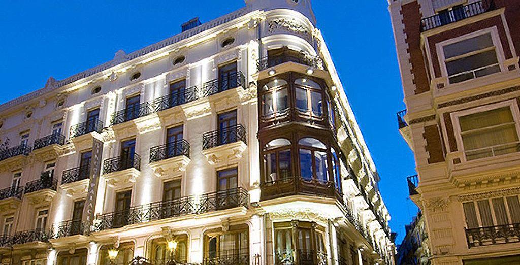 Alors rendez-vous au Vincci Palace 4* - Hotel Vincci Palace 4* Valence