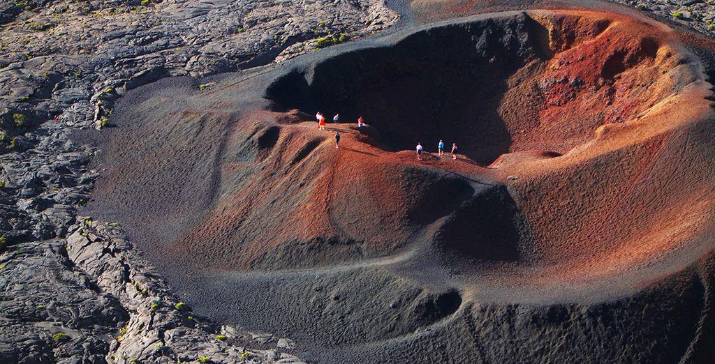 Découvrir de majestueux volcans