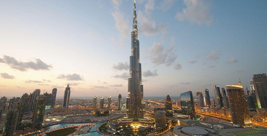 du Burj Khalifa, l'une des plus grandes tour du monde