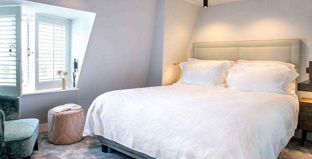 Installez-vous confortablement dans votre chambre Small Luxury