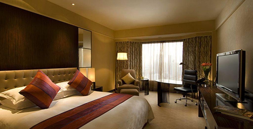 Une chambre Deluxe Plus - Hilton Shanghai ***** Shanghai