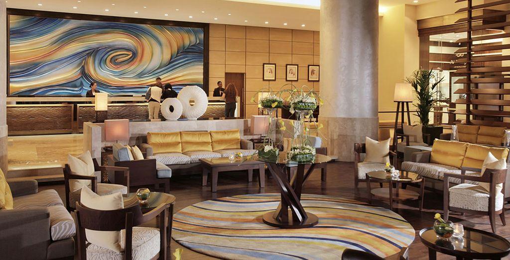 Appréciez le luxe de l'hôtel 5* Amwaj Rotana Jumeirah Beach Residence