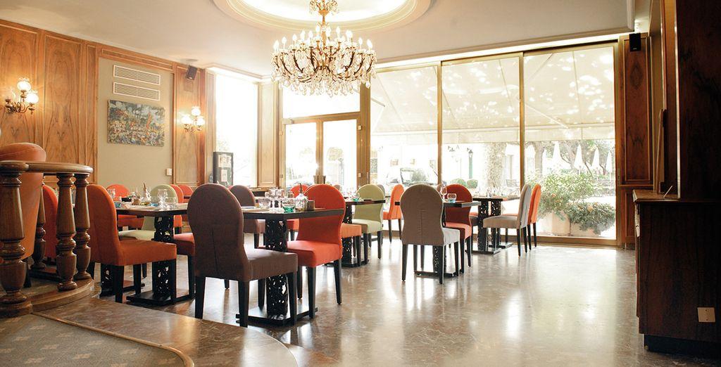 Le restaurant aux plats savoureux...