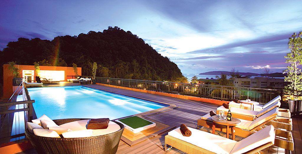 Vous serez dans d'excellentes conditions pour apprécier le charme bohème de Krabi