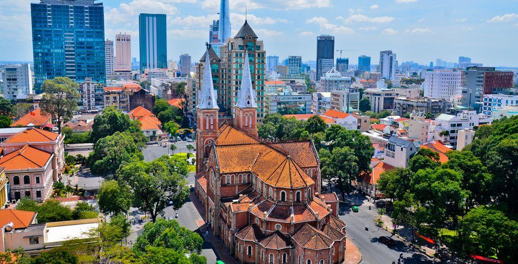 L'ancienne Saigon, capitale de l'Indochine