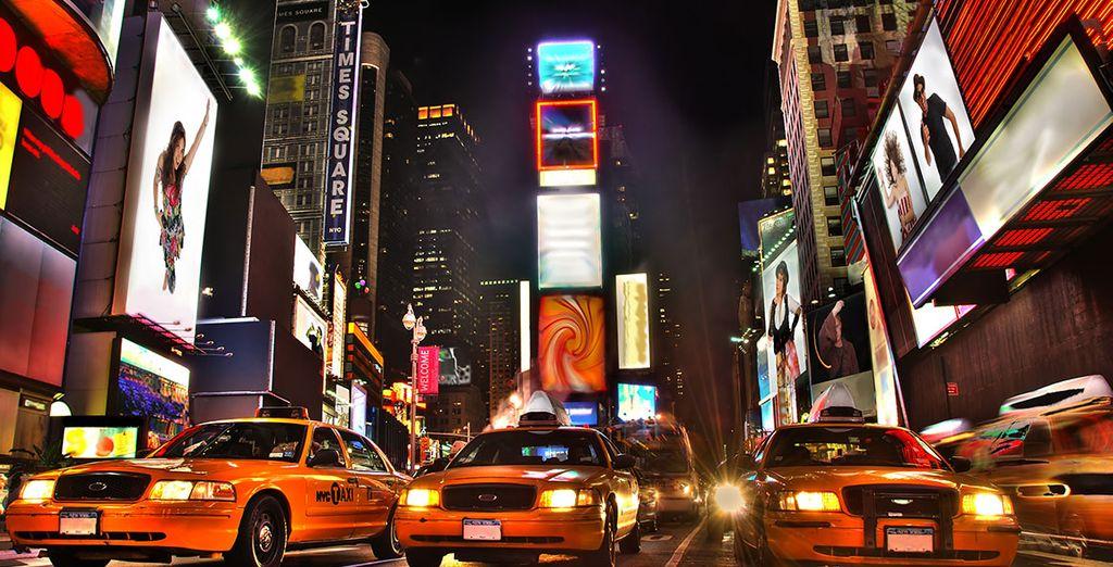 Jusqu'au coeur de Time Square