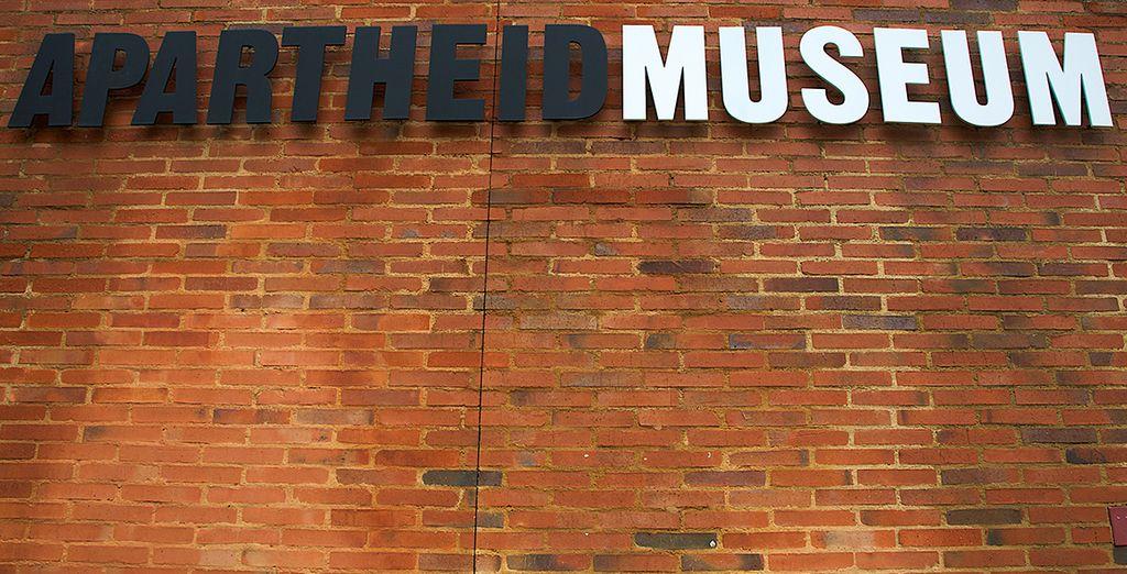 Visitez le Musée de l'Apartheid