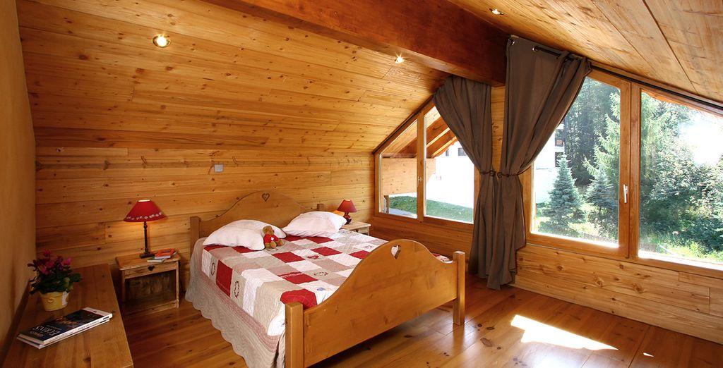 Chalet romantique dans les Alpes