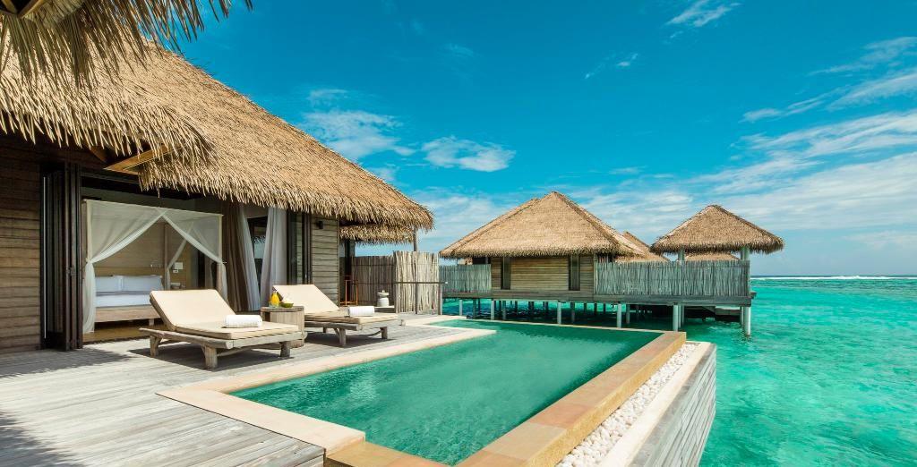Hôtel COMO Maalifushi 5* aux Maldives et accès direct sur l'océan Indien