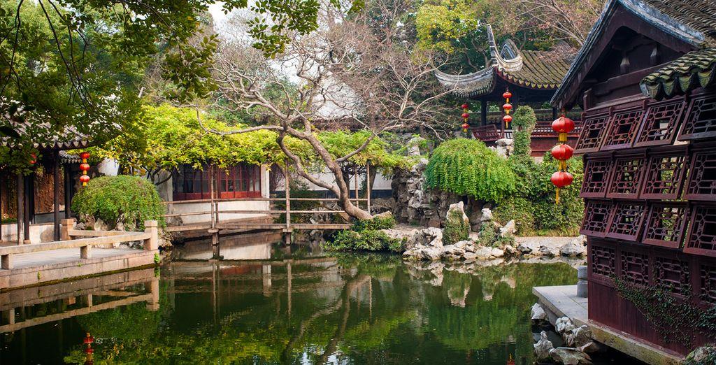 Paysage pittoresque en plein cœur de la Chine