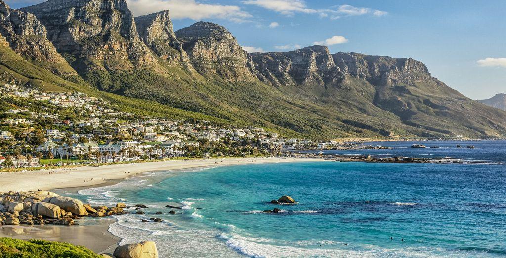 Avec la visite de la ville du Cap