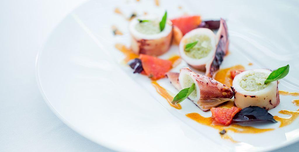 Cuisine gastronomique et bâtisse de charme... voilà votre programme !