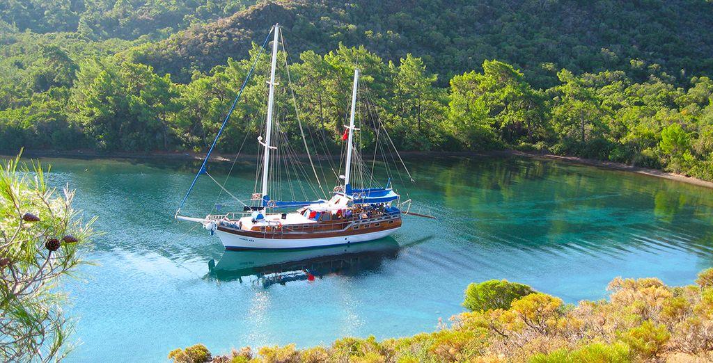 Voguez en mer à bord d'une goélette