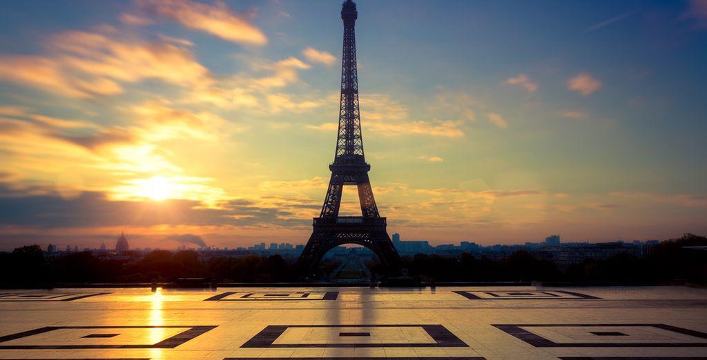 Paris, la belle, l'unique... Vous attend.