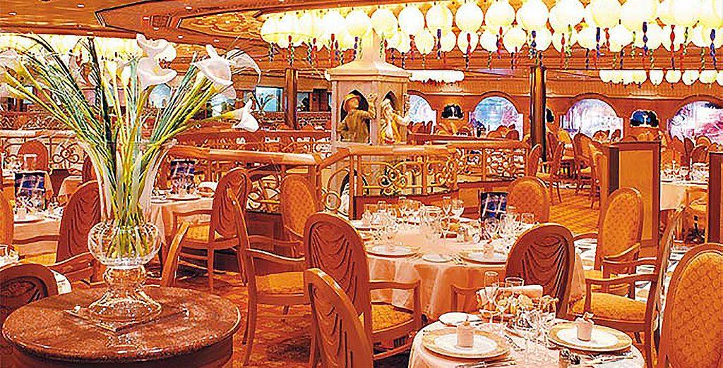 Sans oublier 4 délicieux restaurants
