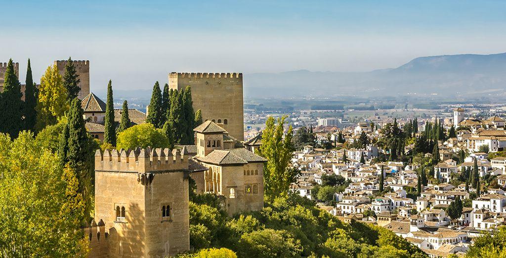 Photographie de la ville de Grenade en Espagne