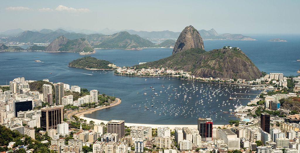 Et aurez le temps de profiter de la légendaire Rio de Janeiro